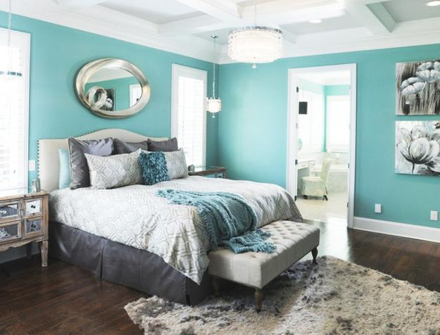 Modern Home Decor Colors Most Popular Blue Green Hues Light Wall Paint Bedroom Scenic
