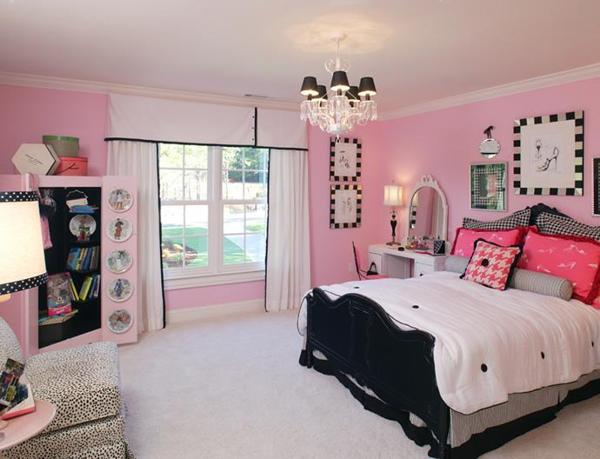 Black And Pink Bedroom Colors To Ize Feng Shui Interior Design