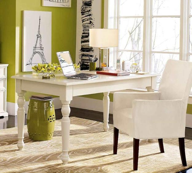 Interior Design Ideas For Home Office: 15 Interior Design Ideas To Stay Healthy In Home Office