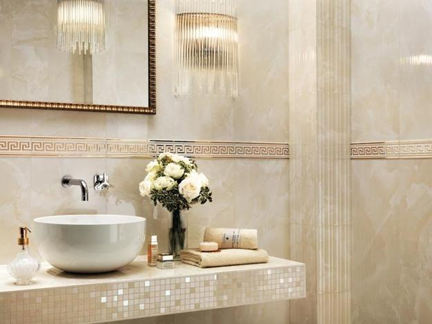 Mosaic Tiles In Light Colors