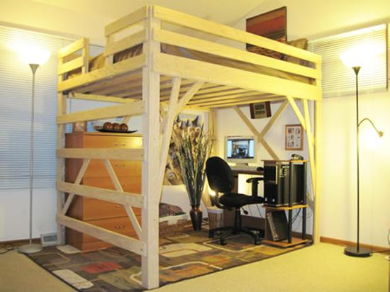 Kids Bedroom Furniture, Stylish Space Saving Ideas, and Modern Loft Beds