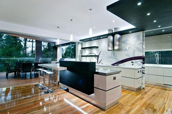 Kitchen Designs Showing Modern Trends And Fashion Attitude