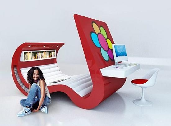 Futuristic Furniture For Age Bedroom