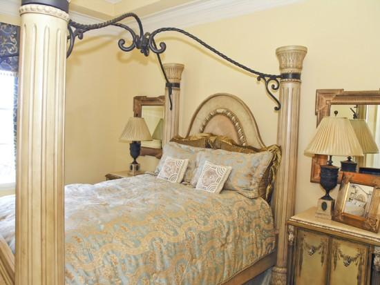 Yellow Cream Wall Paint Color For Bedroom Decorating