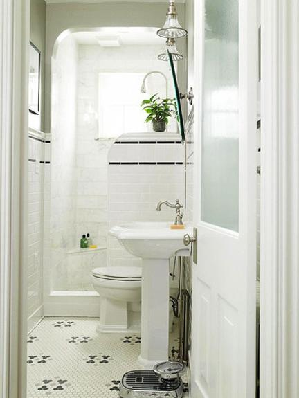 Small Bathroom Remodeling Ideas And Home Staging Tips - Space saving ideas for small bathrooms