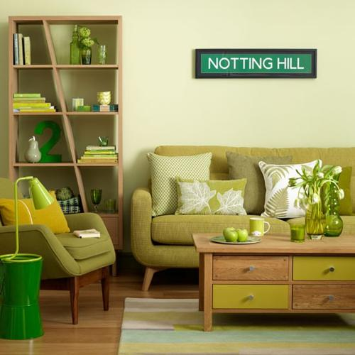 Pastel Colors And Creativity Turning Rooms Into Modern: Green Color For Room Decorating, Irish Inspirations For