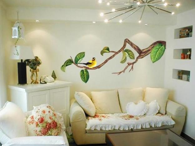 Wall Painting Ideas For Spring Decorating