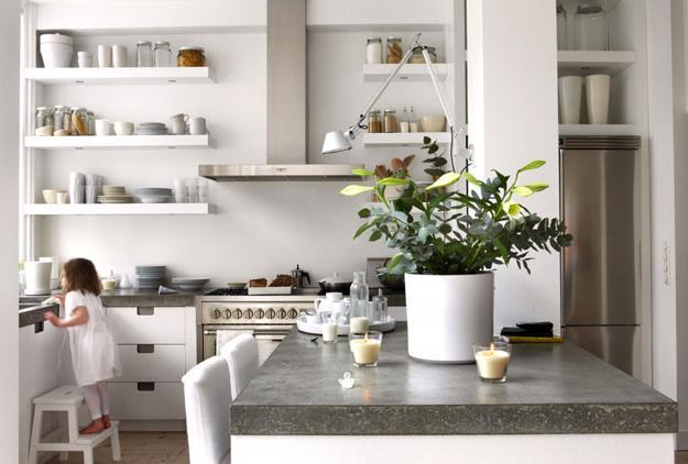Feng Shui Kitchen Design Ideas ~ Feng shui home step ergonomic kitchen triangles