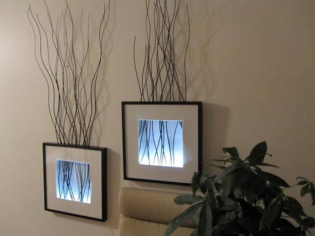 Wall Decor Ideas Decorating With Ordinary Frames For