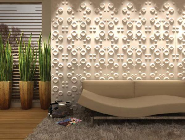 Carved wood wall paneling for contemporary room decorating - Architectural wood interior wall panels ...