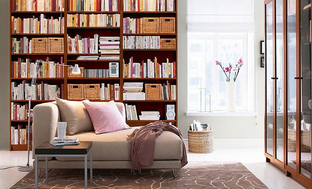 Book Shelves For Personal Library Decorating And Design In Style