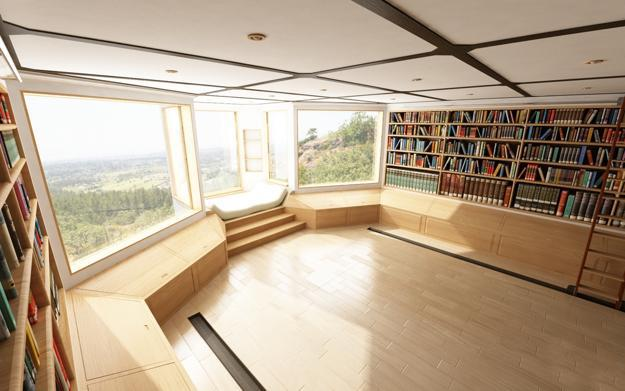 Book Shelves For Personal Library Decorating And Design In
