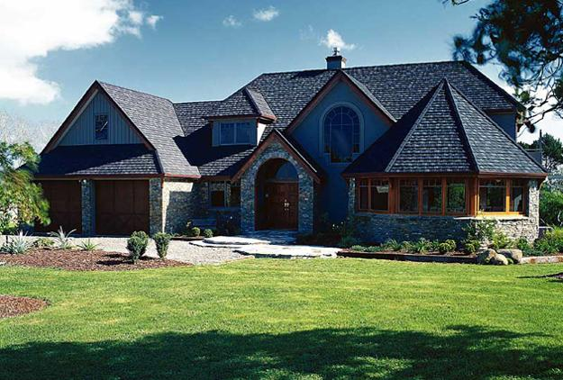 Roof Design Ideas: Feng Shui Home Design With Roof Style