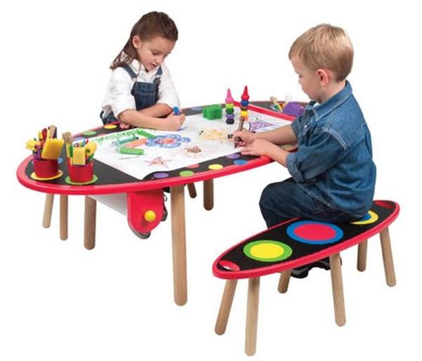 Kids Furniture Kids Activity Table Design For Animals Lovers