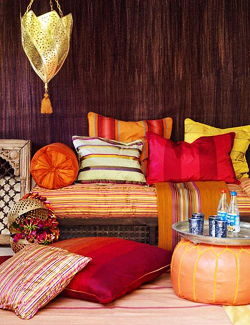 Moroccan Style Home Decorating Colorful And Sensual Home Interiors