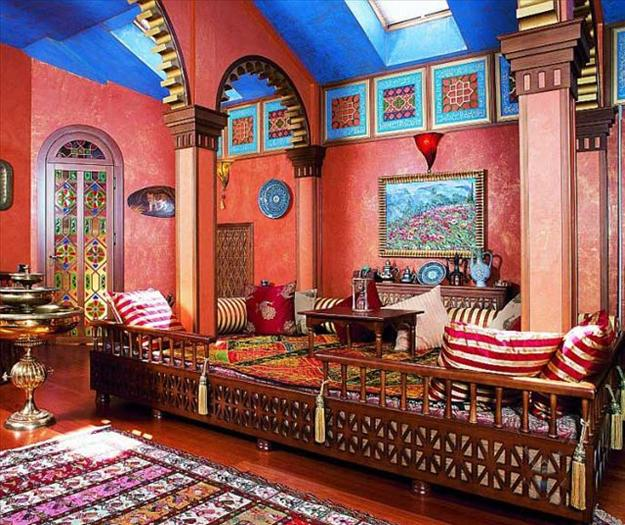 Moroccan style home accessories and materials for - Home interior decoration ideas ...