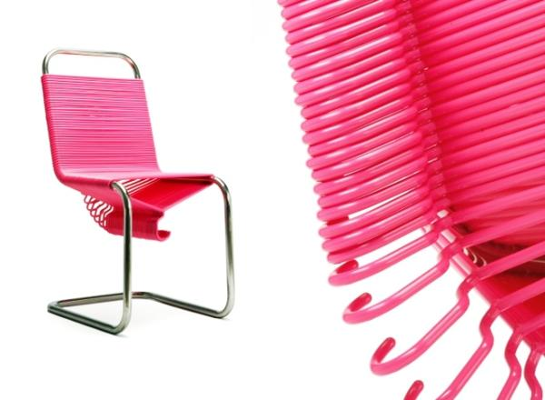Pink Bomb Chair Design for Chic Decor, Unique Furniture Design Ideas