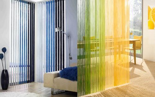 Nice Colorful Rain Curtain Designs For Interior Decorating