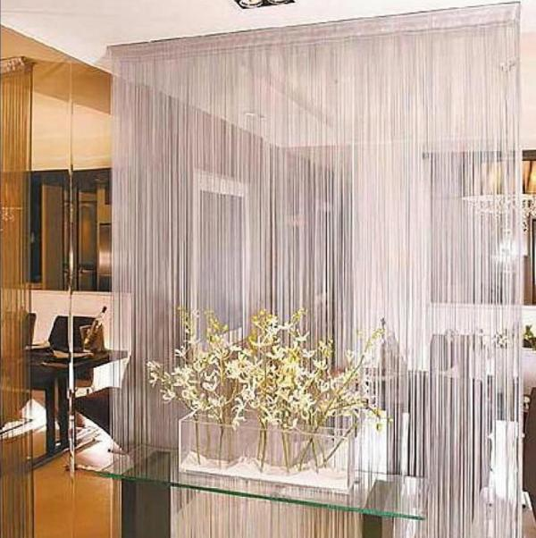 Decorative Curtains Used As Room Dividers