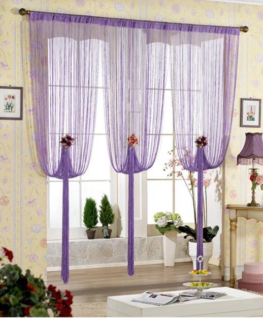 Rain Curtain, Home Decor Accents To Romanticise Modern