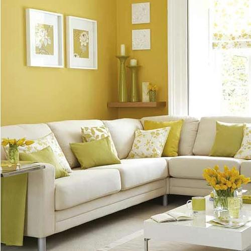 Yellow Color Decorating, Interior Design and Color Psychology