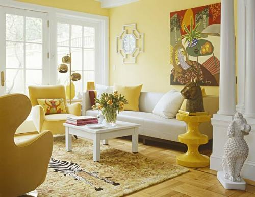 Yellow Color Decorating Interior Design And Color Psychology