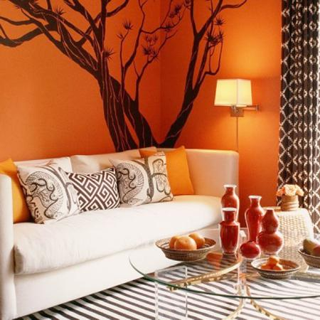 Orange Decorating Ideas, Selecting Colour Schemes