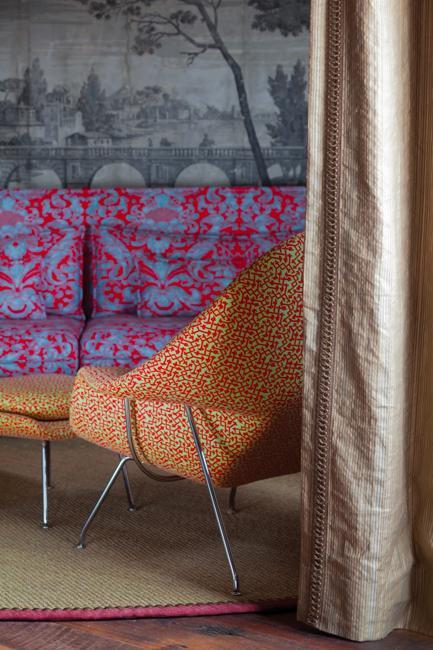 orange chair upholstery purple sofa upholstery fabrics