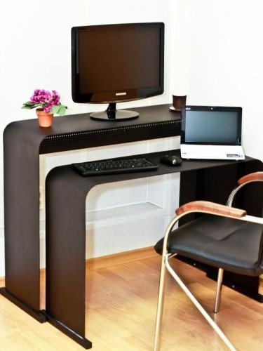 Computer Desk And Chair In Contemporary Style, Small Home Office Design