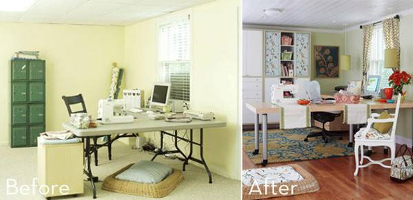 Changing Home Decorating Style, Quick Room Makeovers, Home Office Design