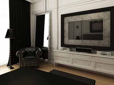 Black N White Room Design Ideas Neutral Modern Interior Color Schemes