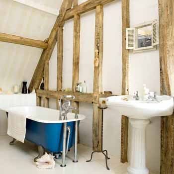 Small Bathroom Ideas Retro Modern Bathrooms Designs - Modern bathroom with clawfoot tub