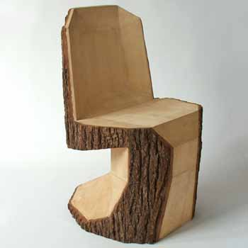 Tree Logs To Contemporary Dining Chairs