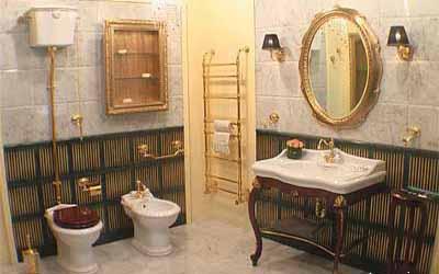 Modern Bathrooms Designs In Retro Styles