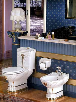 impressive art deco style modern bathroom design trends