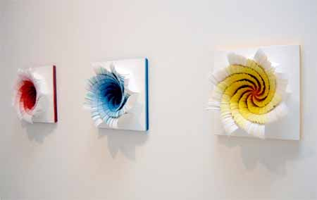 Colorful Paper Craft Ideas Contemporary Wall Art Paper Flowers