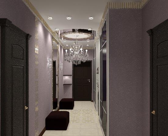 3d Interior Design Ideas for Entryways, Hallway Lighting Fixtures