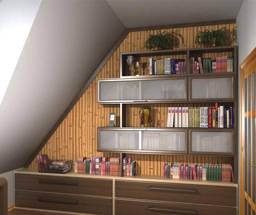 Small Home Library Designs, Bookshelves For Decorating