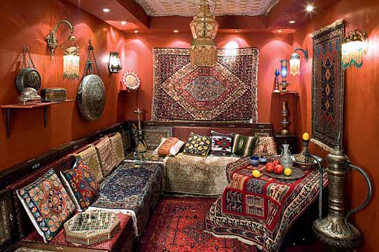 Lushome & Moroccan Decorating Ideas Moroccan Rugs and Floor Decor Accessories