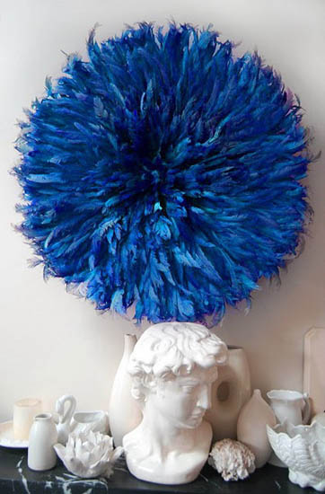 Modern Interior Decorating With Juju Hats Made Of Bird