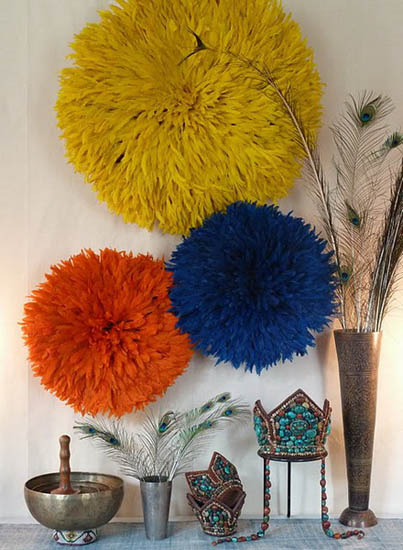 Juju Hats and Wall Decoration Ideas