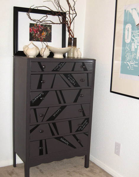 Chalkboard Paint for Dressers, Modern Furniture Painting and ...