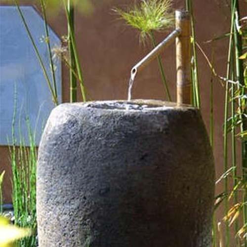 Water Fountain And Oriental Garden Design Ideas