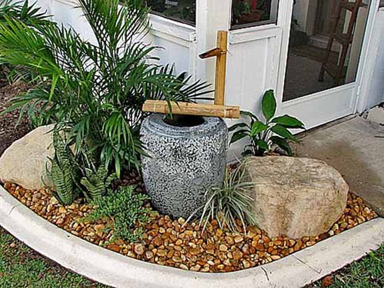 Water Fountain And Oriental Garden Design Ideas