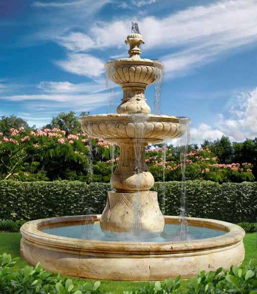 Water Fountains, Front Yard And Backyard Designs