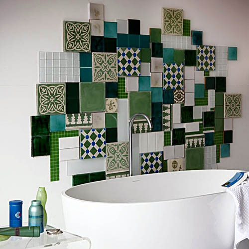 Picture Frames In Different Sizes And Colors Are Useful For Bringing  Playful Patchwork Fabric Style Into Interior Decorating Ideas, Creating Wall  Art Decor ...