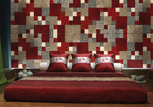 Modern Wall Decor In Patchwork Fabric Style Wall Design Trends