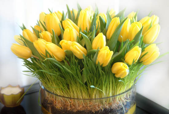 Yellow flower centerpieces and table decoration ideas mightylinksfo