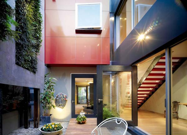 Modern Home Interiors, Cottage like Contemporary Homes on