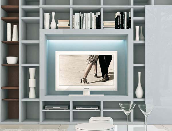 contemporary tv wall units from aslda fre